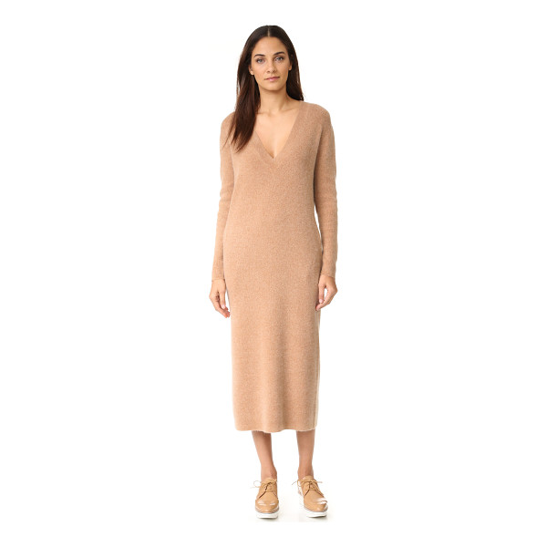 DEMYLEE jonie sweater dress - A cozy DEMYLEE sweater dress with a deep V neckline....