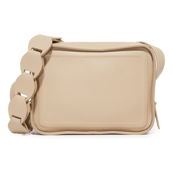 DEREK LAM 10 CROSBY spring camera bag - This boxy Derek Lam 10 Crosby bag is composed of smooth