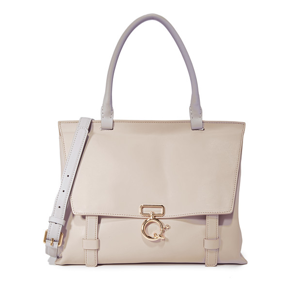DEREK LAM 10 CROSBY soft ave a top handle bag - Rich leather composes this chic Derek Lam 10 Crosby bag.