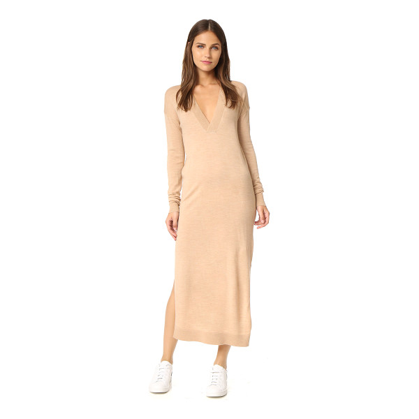 DESIGNERS REMIX aza v neck sweater dress - A simple Designers Remix sweater dress, composed of...