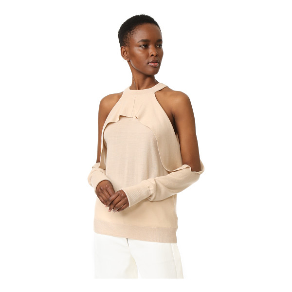 DION LEE long sleeve knit top - Description NOTE: Sizes listed are Australian. Please see...