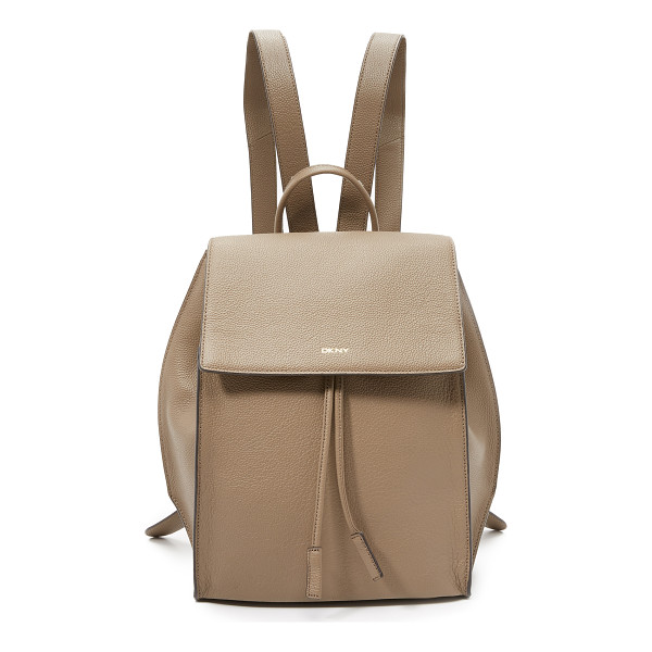 DKNY Chelsea backpack - A sturdy DKNY backpack made from pebbled leather.