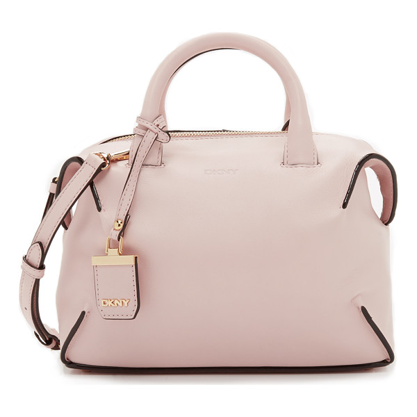 DKNY Williamsburg small satchel - A simple DKNY satchel with a boxy look, rendered in rich...