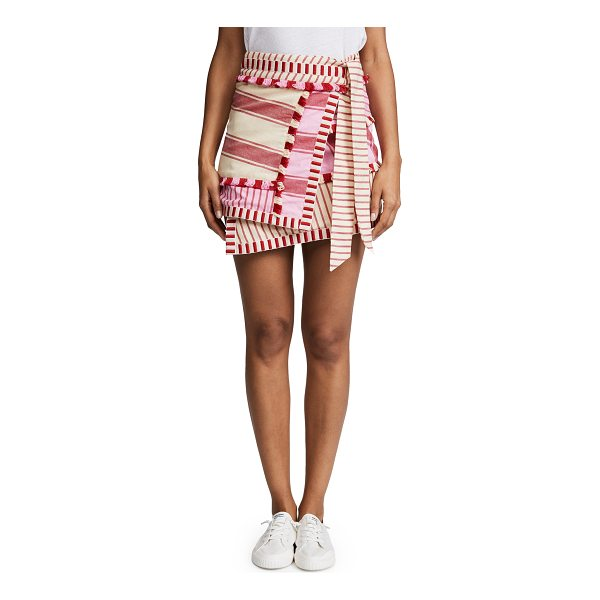 DODO BAR OR hoze skirt - Fabric: Plain weave Stripe pattern Cover-up skirt Mini...