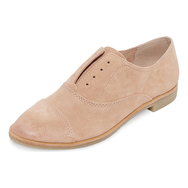 DOLCE VITA cooper oxfords - Relaxed suede Dolce Vita oxfords, styled with inset elastic...