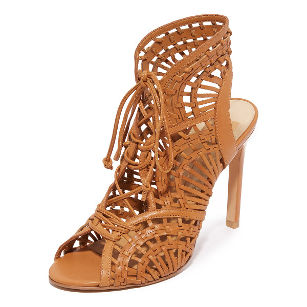 DOLCE VITA Harper sandals - Delicate straps weave through the scalloped top line of...