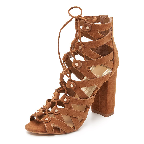 DOLCE VITA Karli sandals - Suede Dolce Vita gladiator sandals, detailed with small...