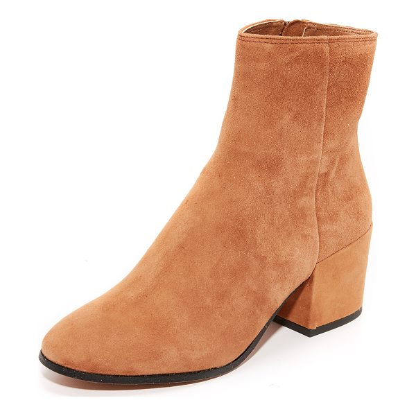 DOLCE VITA maude suede booties - Polished Dolce Vita booties in soft suede. Exposed ankle...