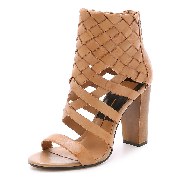 DOLCE VITA Nakita woven sandals - Woven leather wraps the ankle on these Dolce Vita sandals.