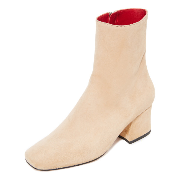 DORATEYMUR sybil leek booties - Stylish Dorateymur booties cut from velvety soft suede. A...