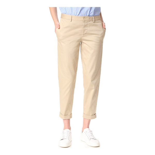 DSQUARED2 hockney pants - Straight-leg DSQUARED2 pants in an ankle-length profile....