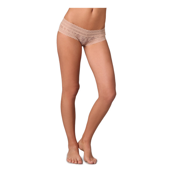 EBERJEY Bluebird amaya briefs - These sheer stretch lace briefs feature scalloped edges....