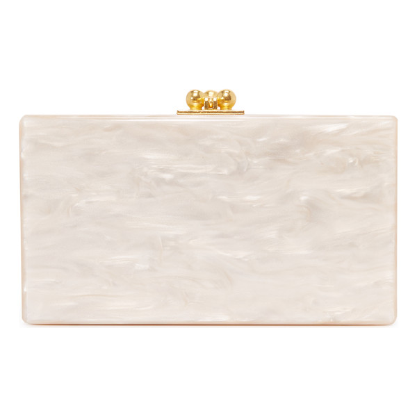 EDIE PARKER jean solid clutch - A petite Edie Parker clutch in shimmering, hand-poured