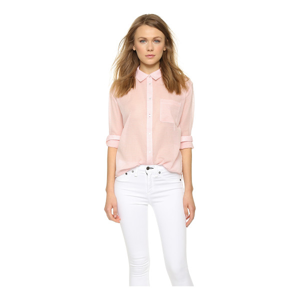 ELIZABETH AND JAMES Carine shirt - A striped Elizabeth and James button down with a slouchy...