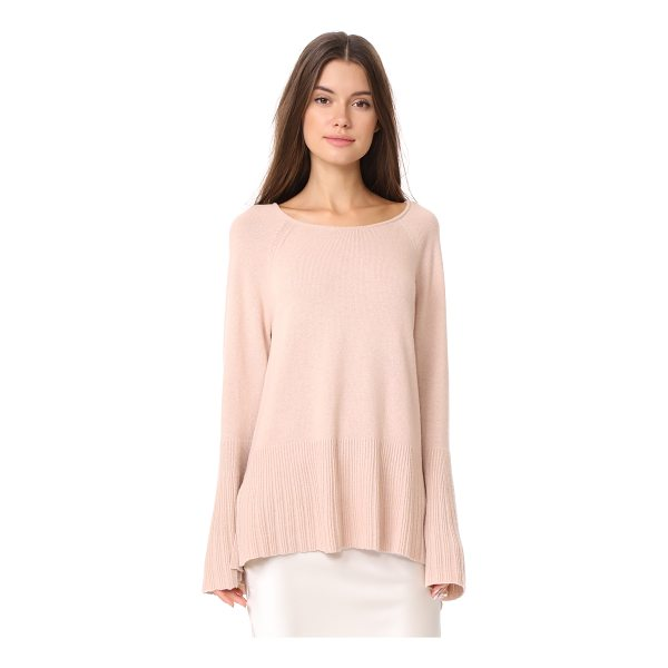 ELIZABETH AND JAMES clarette wide sleeve sweater - This relaxed Elizabeth and James sweater is trimmed at the...