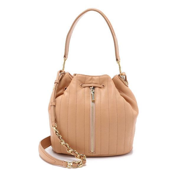 ELIZABETH AND JAMES Cynnie bucket bag - A slouchy Elizabeth and James bucket bag in quilted