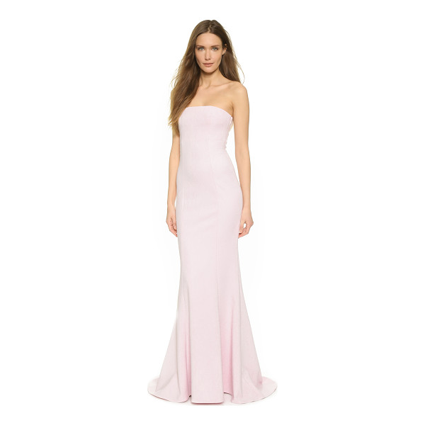ELIZABETH AND JAMES Kendra gown - Precise seams create refined contour to this elegant...
