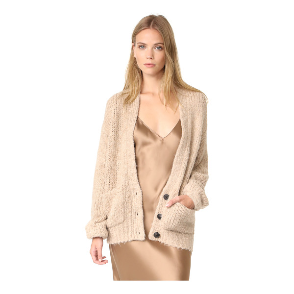 ELIZABETH AND JAMES lars cardigan - A slouchy Elizabeth and James cardigan in a warm alpaca...