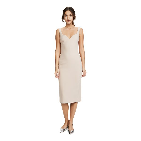 ELIZABETH AND JAMES nevyn fitted dress - Inset boning structures the sweetheart neckline of this...