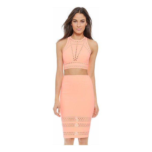 ELIZABETH AND JAMES New upton top - Laser cut detailing creates cool symmetry on this Elizabeth...