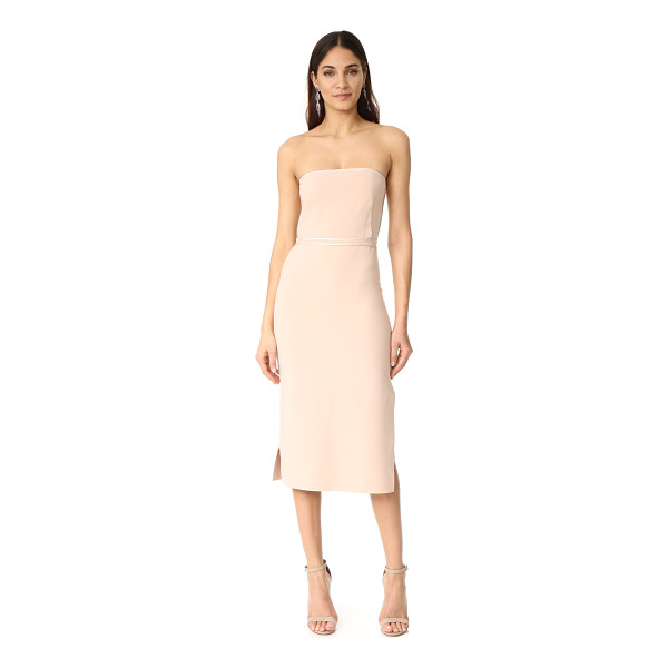 ELIZABETH AND JAMES sierra strapless dress - A strapless Elizabeth and James dress with satin bias-taped...