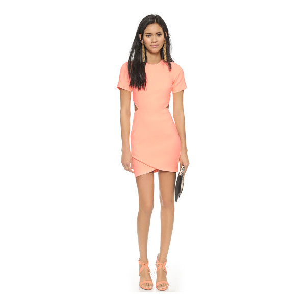 ELIZABETH AND JAMES Skylyn dress - Cutouts make a sultry statement on this bright Elizabeth...