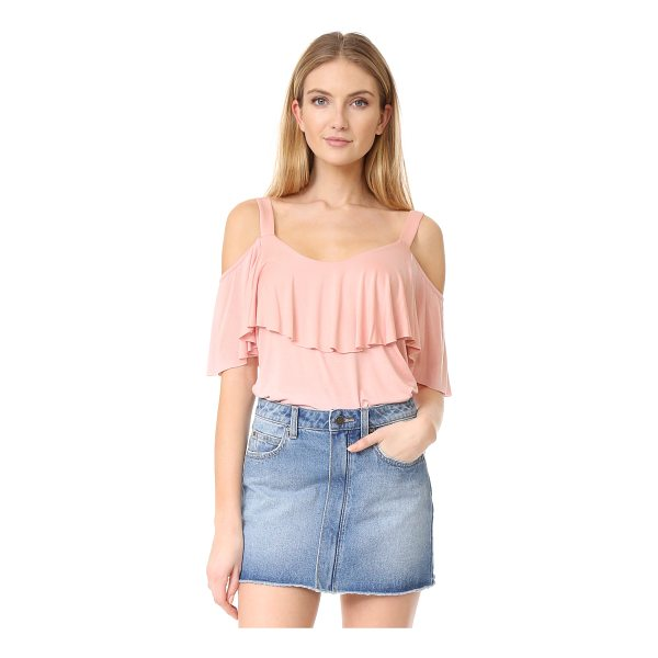 ELLA MOSS bella top - Cutout shoulders lend a modern touch to this draped Ella...