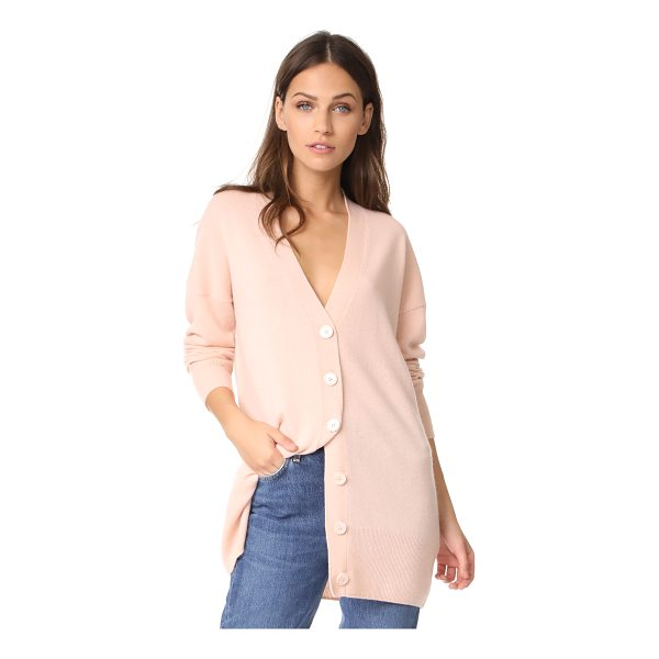 EQUIPMENT gia cashmere cardigan - An oversized Equipment cardigan rendered in soft, fine-knit...