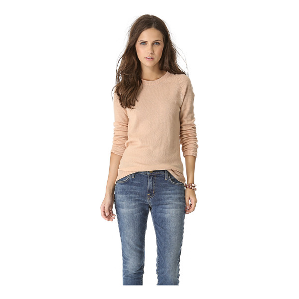 EQUIPMENT sloane cashmere sweater - Equipment's signature Sloane sweater, rendered in soft...