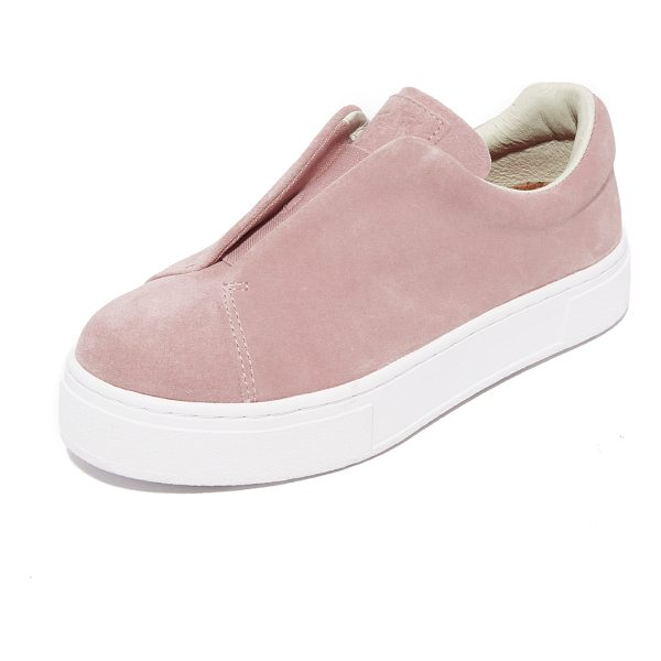 EYTYS doja suede sneakers - Soft suede Eytys sneakers styled with an inset lace-up...