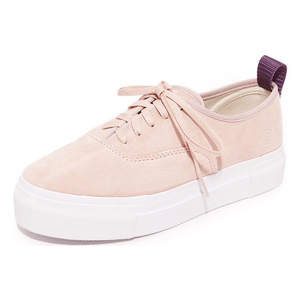 EYTYS mother suede sneakers - Soft suede Eytys sneakers with a timeless, casual feel....