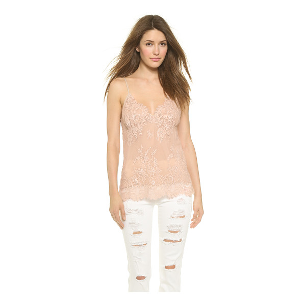 FALCON & BLOOM Liz lace camisole - Delicate lace gives this Falcon & Bloom tank a romantic...