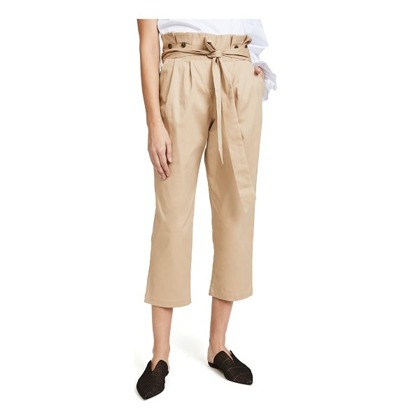 FAME AND PARTNERS the beau pants - These relaxed Fame and Partners pants have a pleated...