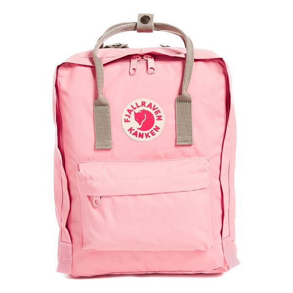 FJALLRAVEN kanken backpack - A sturdy Fjällräven backpack, detailed with a reflective...