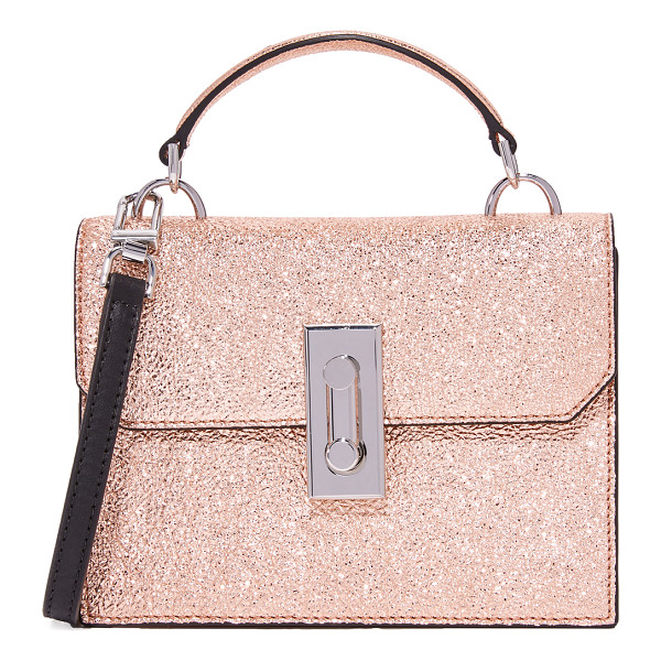 FLYNN bertie cross body bag - A petite Flynn cross-body bag in eye-catching metallic