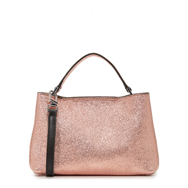 FLYNN oscar cross body bag - A petite Flynn cross-body bag in eye-catching metallic...
