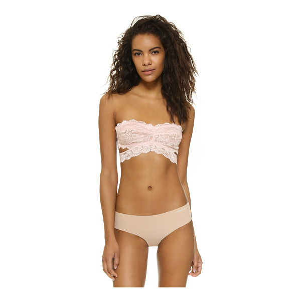 FREE PEOPLE Deep in the dark bandeau - Scalloped lace composes this Free People bandeau....