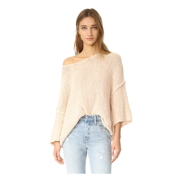 FREE PEOPLE halo pullover - A playfully proportioned Free People sweater with a relaxed...