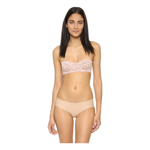 FREE PEOPLE Love letters convertible balconnete bra - A Free People bra in floral lace. Underwire cups and boned...