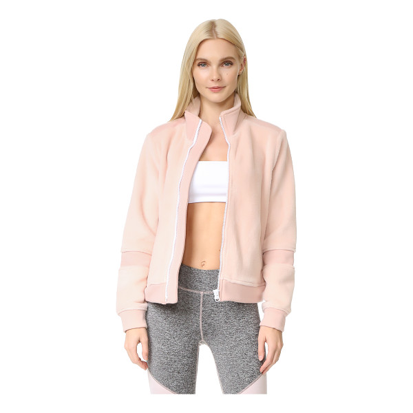 FREE PEOPLE movement timeless classic jacket - This soft Free People track jacket is embellished with...