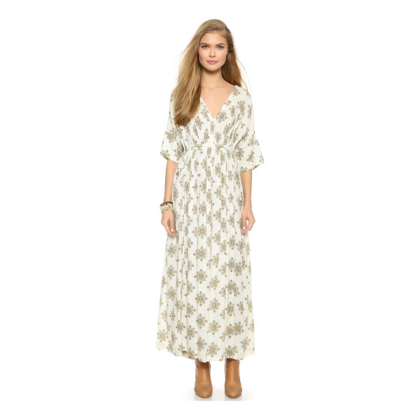 FREE PEOPLE Printed oasis maxi dress - Rich prints bring a free spirited look to this Free People...