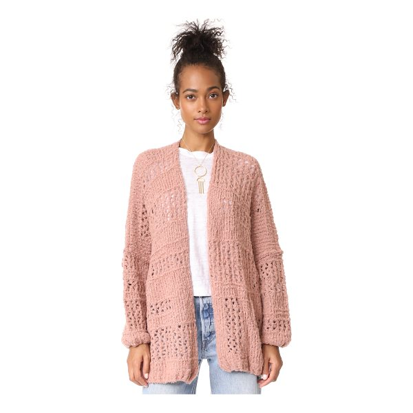 FREE PEOPLE saturday morning cardigan - An oversized, loose-knit Free People cardigan made for...
