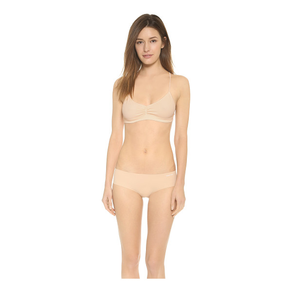 FREE PEOPLE Seamless strappy back bra - Slim straps compose the racer back of this Free People...