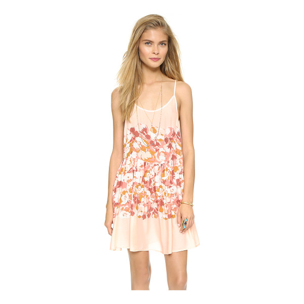 FREE PEOPLE Shortie slip dress - A lattice of slender straps details the open back on this...