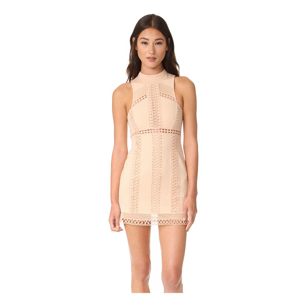 FREE PEOPLE sky scraper bodycon mini dress - A formfitting Free People mini dress, detailed with bands...