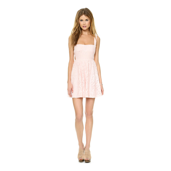 FREE PEOPLE Turn back time dress - A figure hugging bodice gives way to the sweet, swingy...