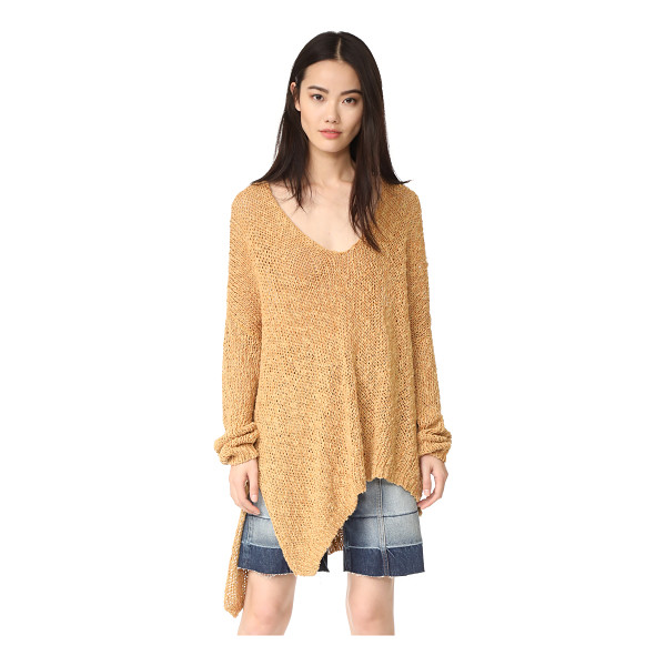 FREE PEOPLE vertigo pullover - An oversized silhouette lends a relaxed feel to this...