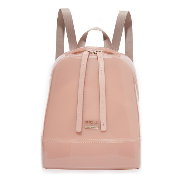 FURLA Candy small backpack - A petite Furla backpack rendered in the brand's signature