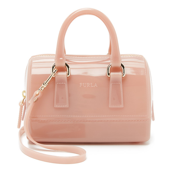 FURLA Candy sweetie mini bag - A petite Furla cross body bag in colorful rubber. The...