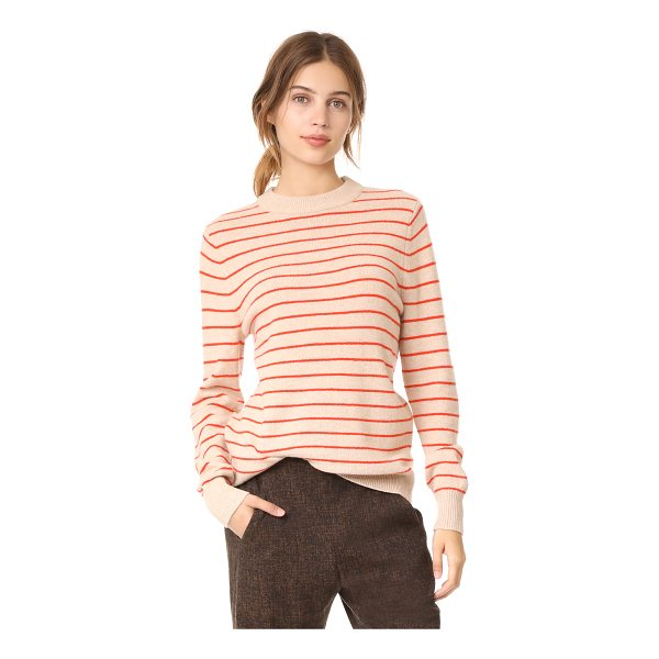GANNI mercer sweater - This lightweight wool Ganni sweater is detailed with slim...